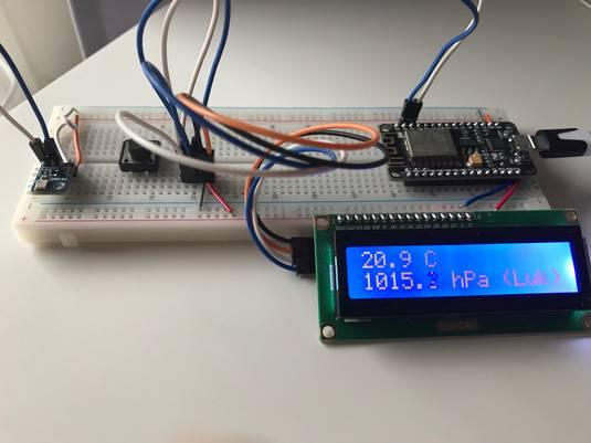 Mierzymy temperaturę z ESP8266